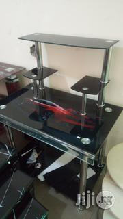 Glass Computer Table | Furniture for sale in Abuja (FCT) State, Kubwa