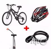 Eastman Adult Sports Bicycle + Helmet + Hand Pump + Steel Wire Rope | Sports Equipment for sale in Lagos State, Lagos Island