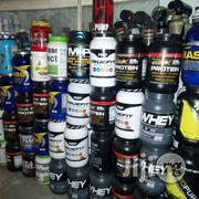 Sports Supplement Whey Protein Muscle Blast | Vitamins & Supplements for sale in Lagos State, Surulere