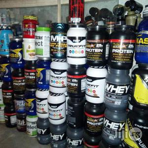 Sports Supplement Whey Protein Muscle Blast