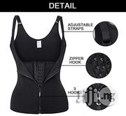 Double Power Waist Trainer Belt -hooks And Zip | Sports Equipment for sale in Lagos State, Lagos Mainland