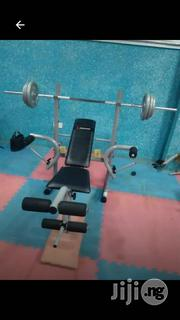 New Weight Bench With 50kg Weight | Sports Equipment for sale in Lagos State, Ikorodu