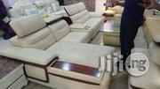 A Brand New Turkey L-Shape Pure Leather Sofa With Warranty | Furniture for sale in Lagos State, Ikoyi