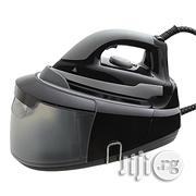Tesco Steam Generator Iron 2400w Black With 1200ml Water Tank | Manufacturing Equipment for sale in Abuja (FCT) State, Central Business District