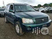 Tokunbo Toyota Highlander 2003 Green | Cars for sale in Lagos State, Ikeja