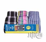 Yulu 3 In 1 Men's Boxers - Multicolour | Clothing Accessories for sale in Lagos State, Lagos Island