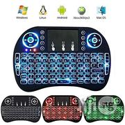 Mini I8 Wireless Touchpad Keyboard Adjustable Speed Air Mouse | Computer Accessories  for sale in Abuja (FCT) State, Central Business District