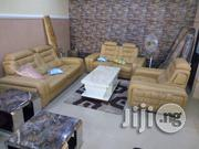 Quality Italian Leather Living Room Sofa Chair Seven Seater | Furniture for sale in Lagos State, Lekki Phase 1