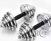 Brand New 20kg Dumbell | Sports Equipment for sale in Akwa Ibom State, Etim-Ekpo