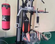 New Station Gym With Boxing Bag | Sports Equipment for sale in Akwa Ibom State, Ibeno