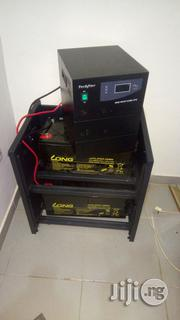 2.5kva Techfine Inverter With 2(200)Ah Deep Cycle Batteries | Solar Energy for sale in Oyo State, Ibadan