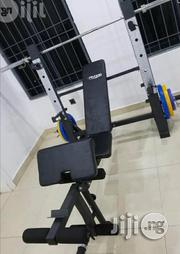Commerical Weight Bench With Barbell and Plate | Sports Equipment for sale in Lagos State, Lekki Phase 1