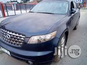 Very Clean Infiniti Fx 35 2005 Blue | Cars for sale in Rivers State, Obio-Akpor