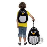 """13"""" 16"""" 2PC Kids Luggage Set Suitcase Backpack School Travel Cabin Trolley ABS 
