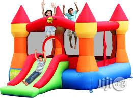 12ft Bouncing Castle With Slide