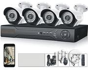 Channel 4 Cameras 1080P AHD Home Security Cameras | Photo & Video Cameras for sale in Lagos State, Ikeja