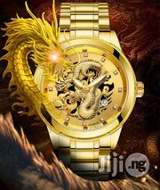 Quartz Exclusive Gold Chain Wristwatch   Watches for sale in Lagos State, Yaba