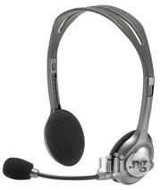 Logitech H110 Stereo Headset, Black & Grey | Headphones for sale in Lagos State, Ikeja