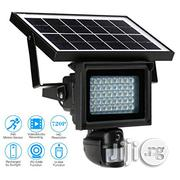 Solar Power IR 720P Auto Floodlight Motion Detection Camera | Solar Energy for sale in Lagos State, Amuwo-Odofin