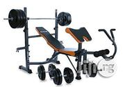 American Fitness Commercial Weight Bench With Chest Push Exerciser | Sports Equipment for sale in Abuja (FCT) State, Utako