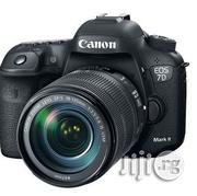 Brand New Canon EOS 7D Mark II DSLR Camera Ith 18-135mm Lens   Photo & Video Cameras for sale in Lagos State, Ikeja