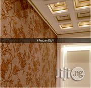Golden Floral Patterned Wallpapers | Home Accessories for sale in Abuja (FCT) State, Kubwa