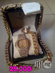 Patek Philippe Ice Stones Wristwatch,Chains, Bracelet & Rings. | Jewelry for sale in Lagos State, Surulere
