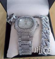 Patek Philippe Ice Stones Wristwatch, Bracelet Rings. | Jewelry for sale in Lagos State, Surulere