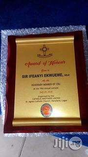 8 By 10 Wooden Award Plaque   Arts & Crafts for sale in Lagos State, Lagos Mainland