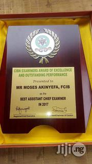 8 By 10 Wooden Award Plaque | Arts & Crafts for sale in Lagos State, Lagos Mainland