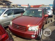 Toyota Highlander 2003 Red | Cars for sale in Lagos State, Apapa