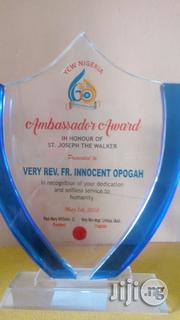 Glass Award Plaque | Arts & Crafts for sale in Lagos State, Lagos Mainland