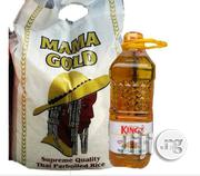 10kg Bag Of Rice+2 Litres Vegetable Oil | Meals & Drinks for sale in Oyo State, Ibadan