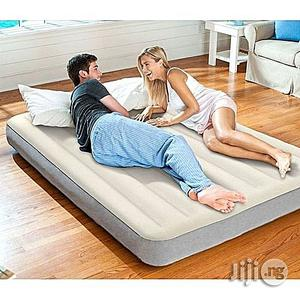 Intex Queen Size Supreme Air-flow Bed With Free Electric Pump