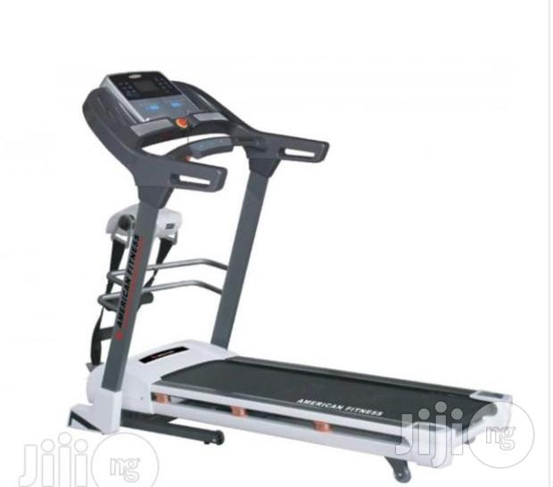 Treadmill With Massager (American Fitness)