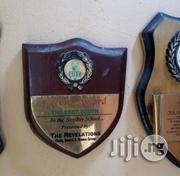Award Wooden Plaques With Write Up | Arts & Crafts for sale in Lagos State, Agege