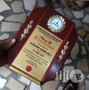 Wooden Plaque For Award | Arts & Crafts for sale in Lagos State, Apapa