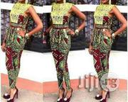 Lace Design Top Ankara Trouser | Clothing for sale in Lagos State, Ojodu