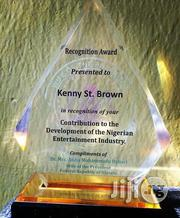 Award Plaque (Crystal) | Arts & Crafts for sale in Lagos State, Ibeju