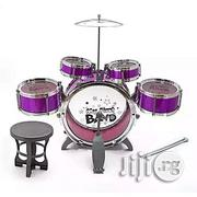 Jazz Drum Set With Seat For Children | Musical Instruments & Gear for sale in Abuja (FCT) State, Central Business District