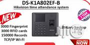 Hikvision Time Attendance DS-K1A802EF-B, Clockin/Out Machin | Safety Equipment for sale in Lagos State, Ikeja