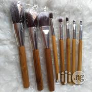 Bamboo Wooden Make-up Brush - 8 Pcs | Makeup for sale in Lagos State, Surulere