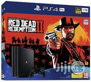 New Sony Playstation 4 Pro 1tb Red Dead Redemption 2 Bundle | Video Game Consoles for sale in Lagos State, Lagos Mainland