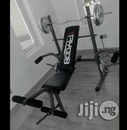 Weight Bench With 50kg Bar Bell | Sports Equipment for sale in Abuja (FCT) State, Jabi