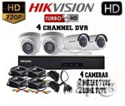 Hikvision Turbo HD 1mp 4channel Dvr, 4 Cameras Package | Security & Surveillance for sale in Lagos State, Ikeja