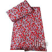 Ankara Fabric Red Pattern | Clothing for sale in Lagos State, Lagos Mainland