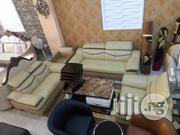 Quality Italian Leather Living Room Sofa Chair 7 Seater | Furniture for sale in Lagos State, Lekki Phase 1