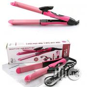 Nova 2-In-1 Hair Curler and Straightener | Tools & Accessories for sale in Lagos State, Lagos Island
