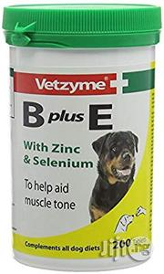 Vetzyme B Plus E Vitamins (200 Tablets) | Pet's Accessories for sale in Lagos State, Agege