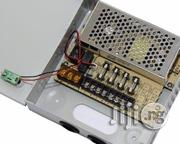 4-channel Fused 12V DC CCTV Power Supply Box | Security & Surveillance for sale in Lagos State, Ikeja